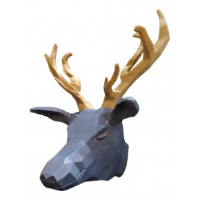 Deer decorative head