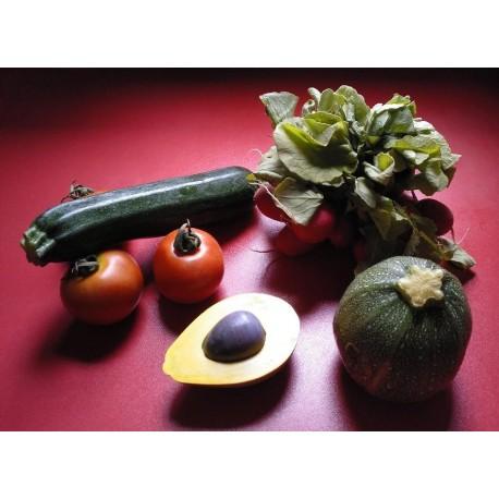 Customizable avocado (pulp, peel and seed)