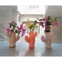 Customizable cactus vase in ceramic resin