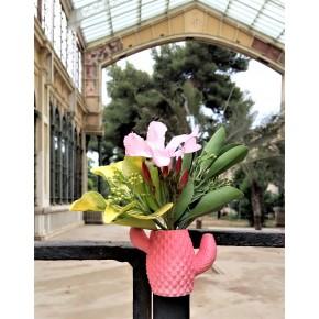 Mini Florero cactus con imán