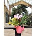 mini Cactus vase with magnet