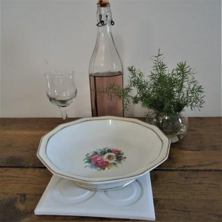 Salvamantel Flor de Barcelona resina cerámica
