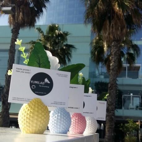 Porte carte / Porte nom de table ananas