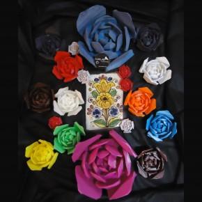 Rosa personalitzable exclusiva amb imants integrats
