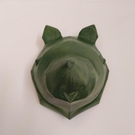 Cap decoratiu d'Ós en estil origami