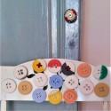 Lote de 10 botones, con o sin imán, colores personalizables, 2 acabados.