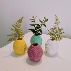 Mini florero, mini maceta piña