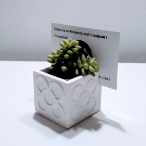 Mini flower pot card / Name Holder with Panot