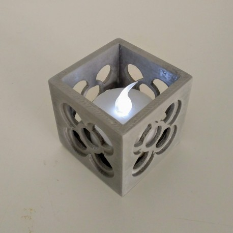 Mini openwork pot Panot, with or without LED