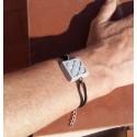 Barcelona Flower Hand Bracelet, Panot in ceramic resin