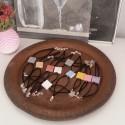 10 Barcelona Flower Hand Bracelets, Panot in ceramic resin