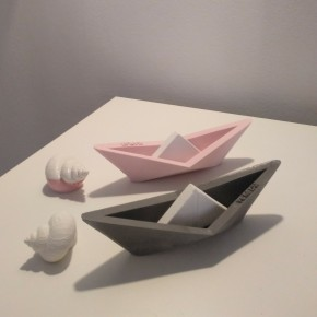12 Veleros de estilo origami personalizables, barquita, barca de vela