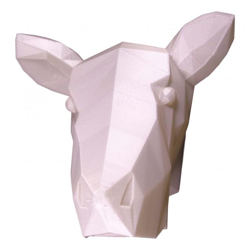 3D Cow Trophy Phosphorescent Side