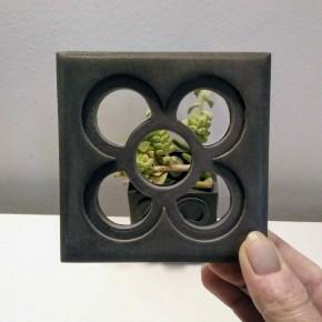 Openwork coaster, Barcelona flower, Panot, openwork tile
