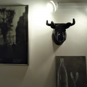Bull decorative head