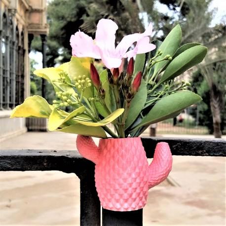 Pot cactus avec aimant