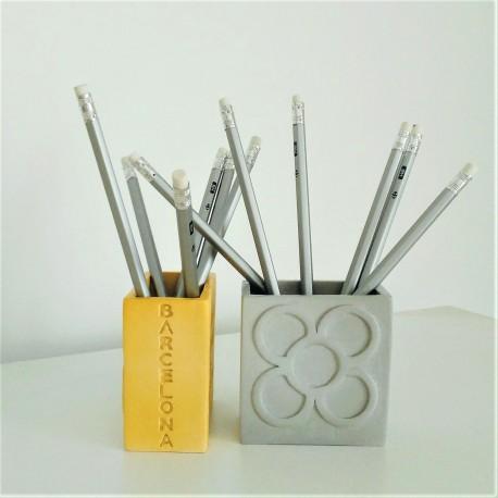 Panot rectangular pencil holder