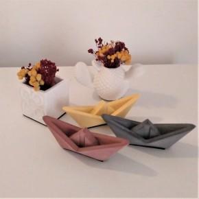 3 Mini Velers d'estil origami