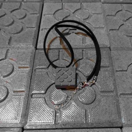 Bilbao necklace, small Bilbao Flower pendant