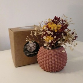 Hedgehog pot, sea urchin, urchin vase
