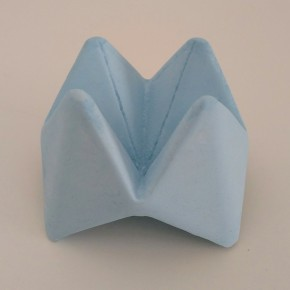 Cocotte fleur de papier origami