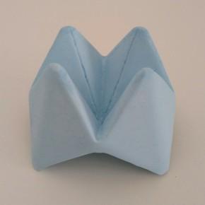 Cocotte flor de papel origami