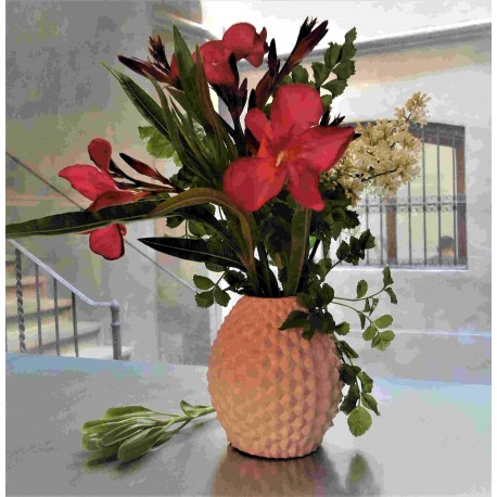 Pineapple flower pot