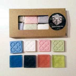 8 mini soaps Flor de Barcelona, Panot