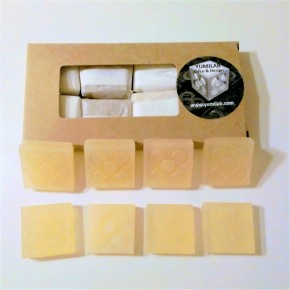 8 mini organic soaps Flor de Barcelona, Panot