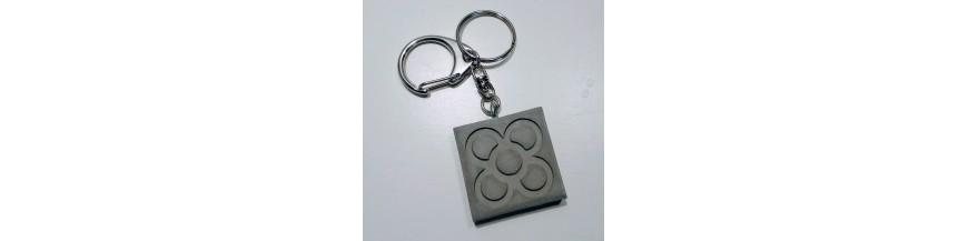 Key holder bag charm